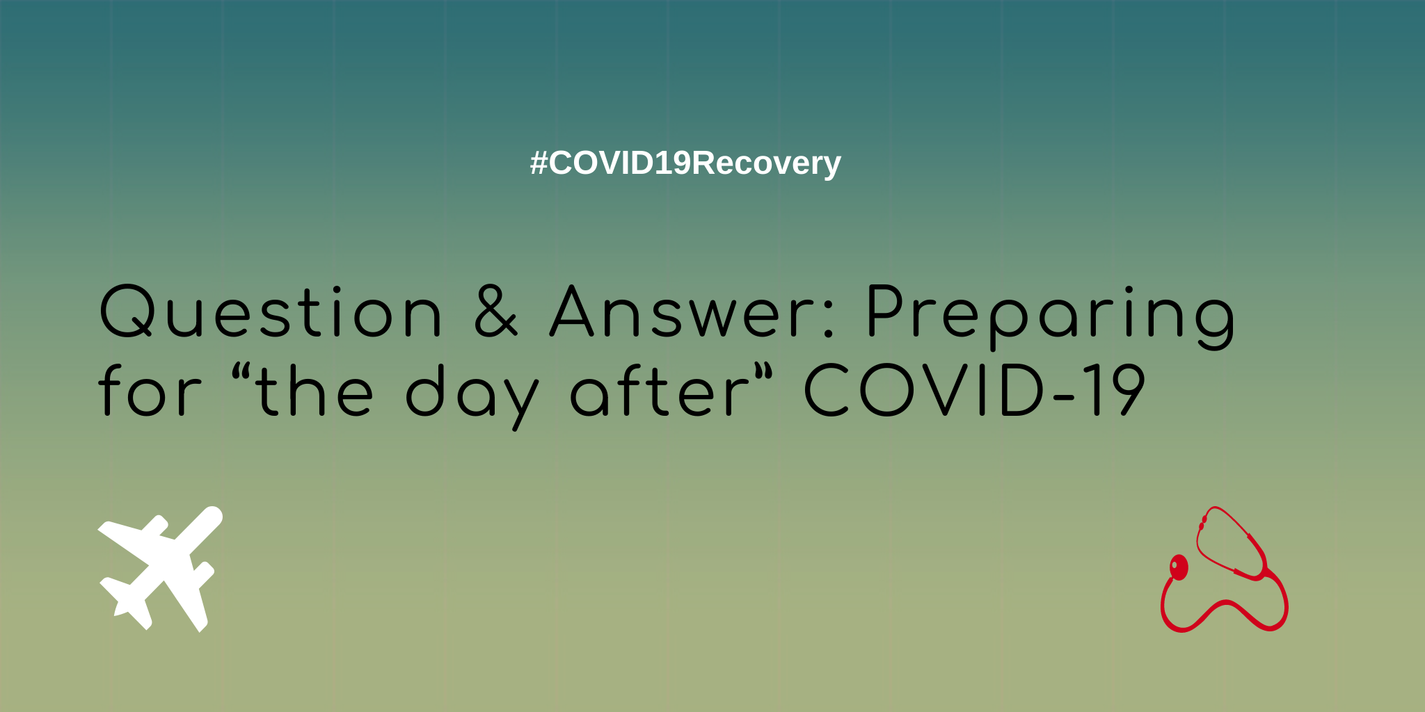 "Question & Answer: CEO on how he is preparing for ""the day after"" COVID-19"