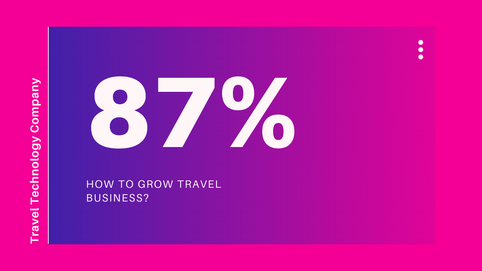 How to Grow Travel Business?