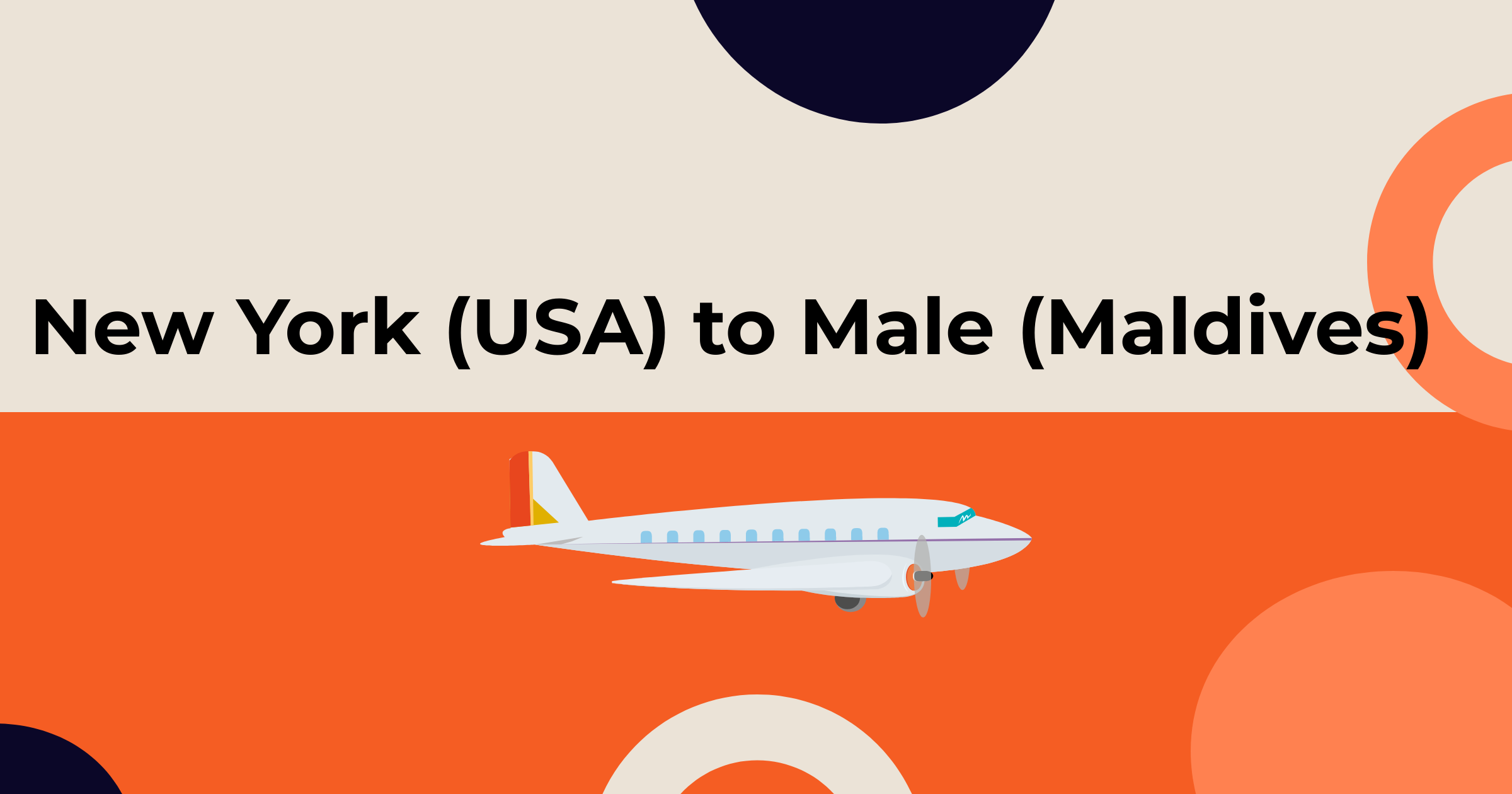 New York (USA) to Male (Maldives) B2B flight booking portal (Fare Compare)
