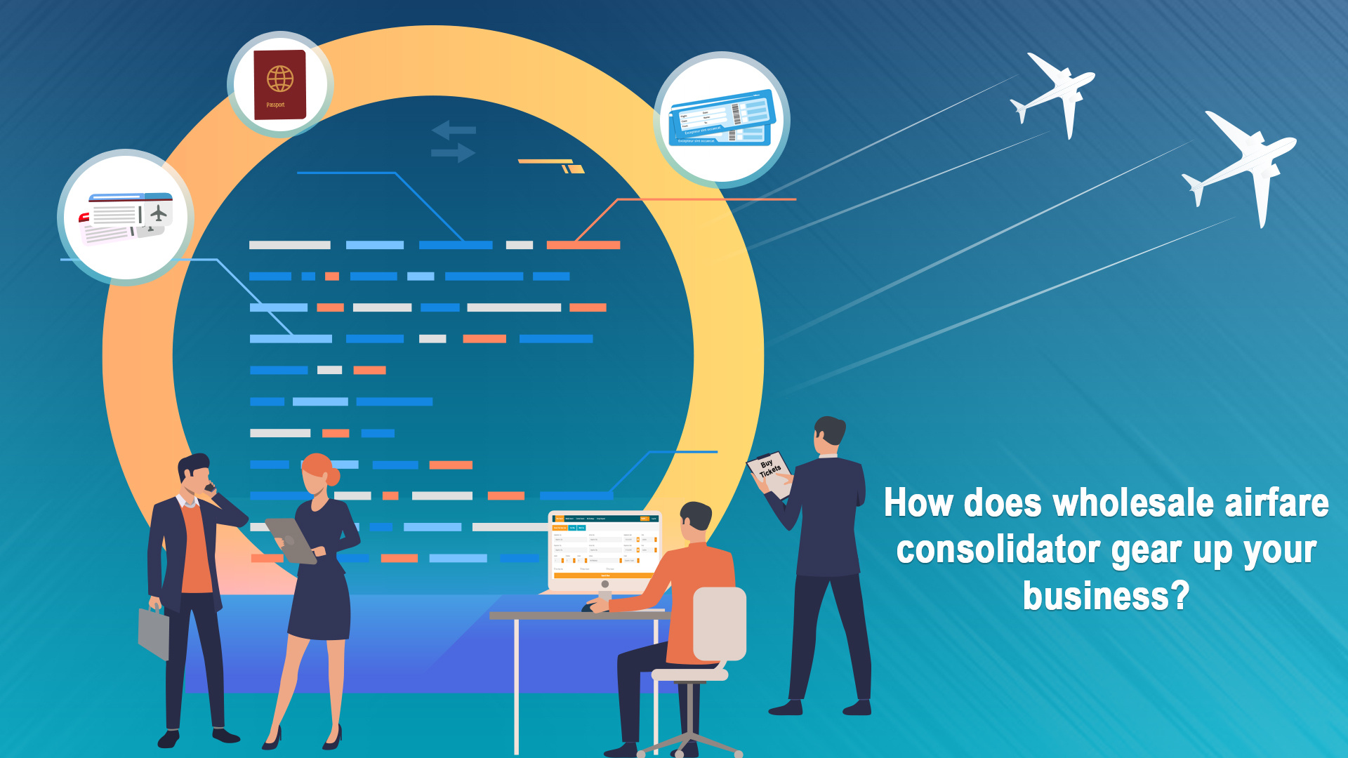 How does wholesale airfare consolidator gear up your business?